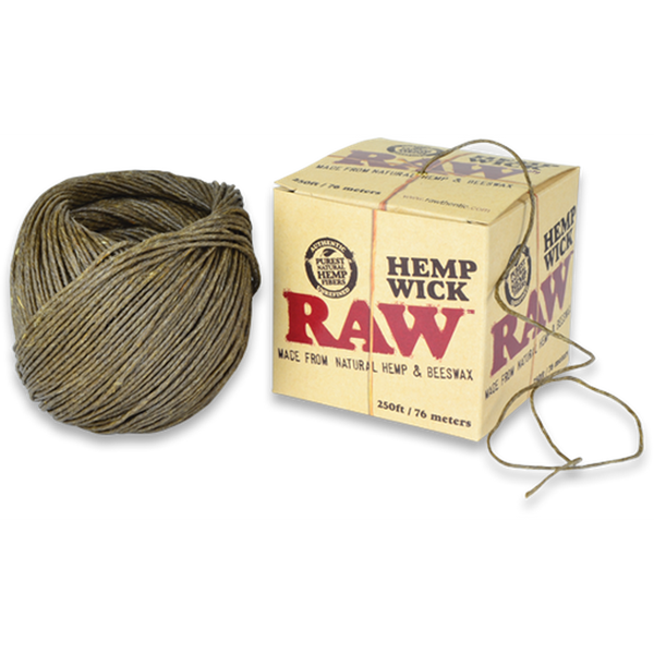 RAW Hemp Wick Ball - 250ft.