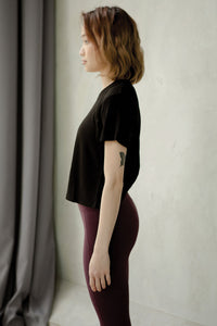 Vivre - Stretch Out Open Back Tee