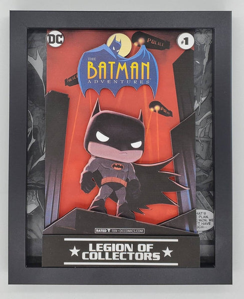 Batman Animated Series Funko Shadow Box, 3D Art