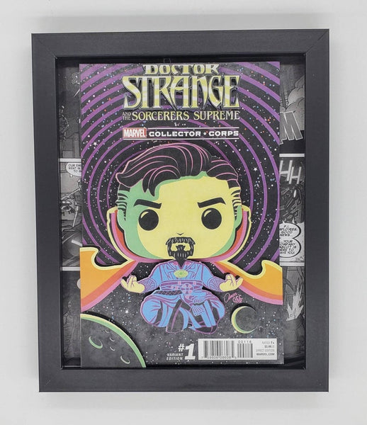 Doctor Strange Funko Shadow Box, 3D Art