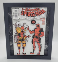 Spider-Man & Deadpool Shadow Box, 3D Art