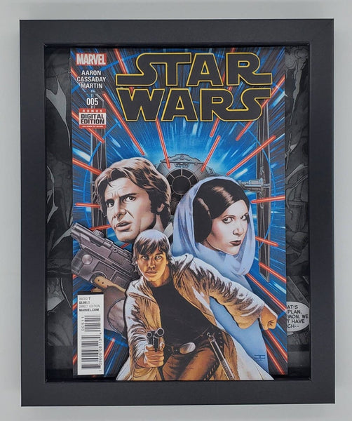 Star Wars Shadow Box, 3D Art
