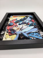 Transformers Optimus Prime Shadow Box, 3D Art