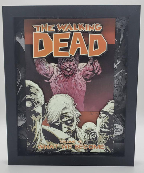 The Walking Dead Shadow Box, 3D Art