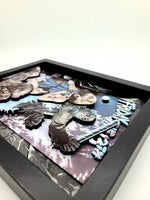 Jason Voorhees Friday the 13th Horror Comic Book Shadow Box, 3D Art