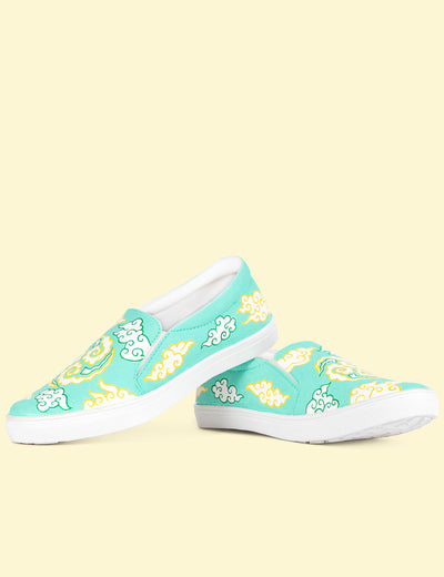 Buy attractive hand painted shoes for women non lace shoes online at www.soulcraf.com