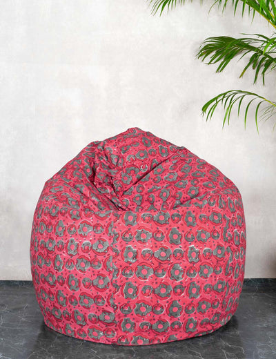 Buy cool donut print pink xxxl bean bag online trendy bean bag online at soulcraf.com
