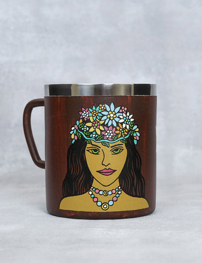 Buy designer long lasting coffee mug virgo zodiac sign for gift online india at soulcraf.com