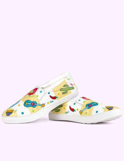 Buy multicolor shoes quirky for girls ladies women her online at soulcraf.com