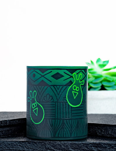 Buy online fancy and stylish cool green coffee mug for durability india at soulcraf.com