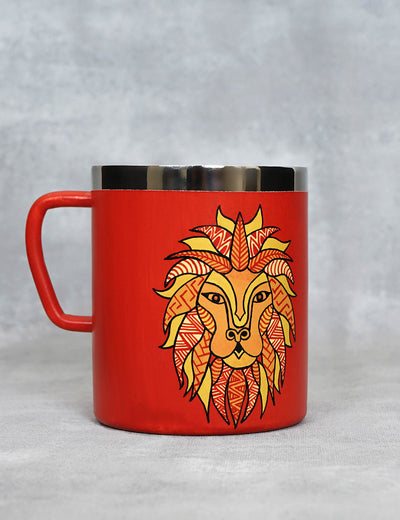 Buy premium handcrafted tea mug leo horoscope coffee mug online india at soulcraf.com
