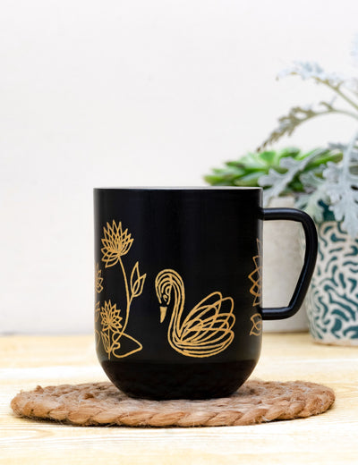 Buy printed ceramic cups online handmade unique coffee mugs for girls online india at soulcraf.com