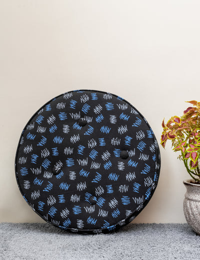 Buy throw pillow online in India affordable handmade large size cushion floor cushion for yoga online in India at soulcraf.com