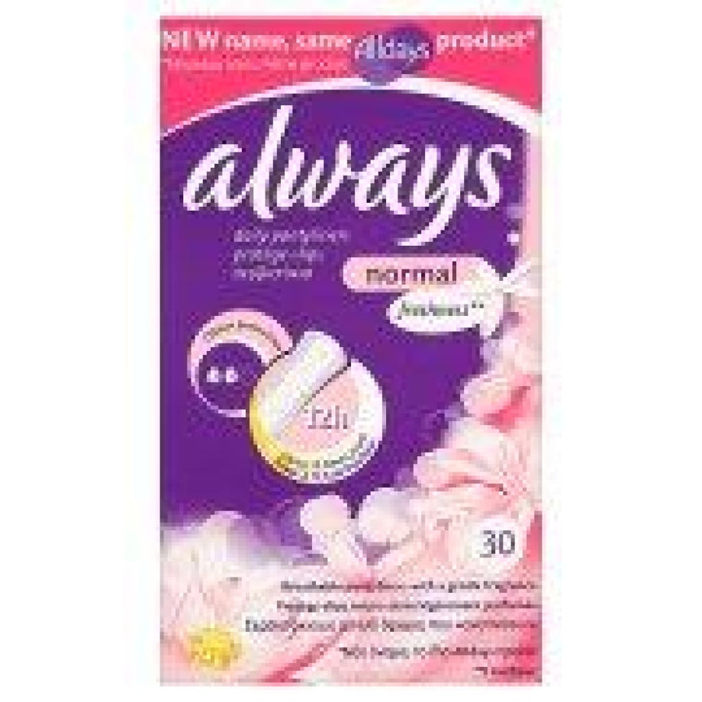Always Daily 30 Pantyliners Normal Freshness