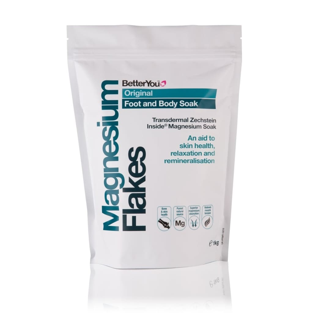 Better You Magnesium Flakes 1kg - Foot and Body Soak