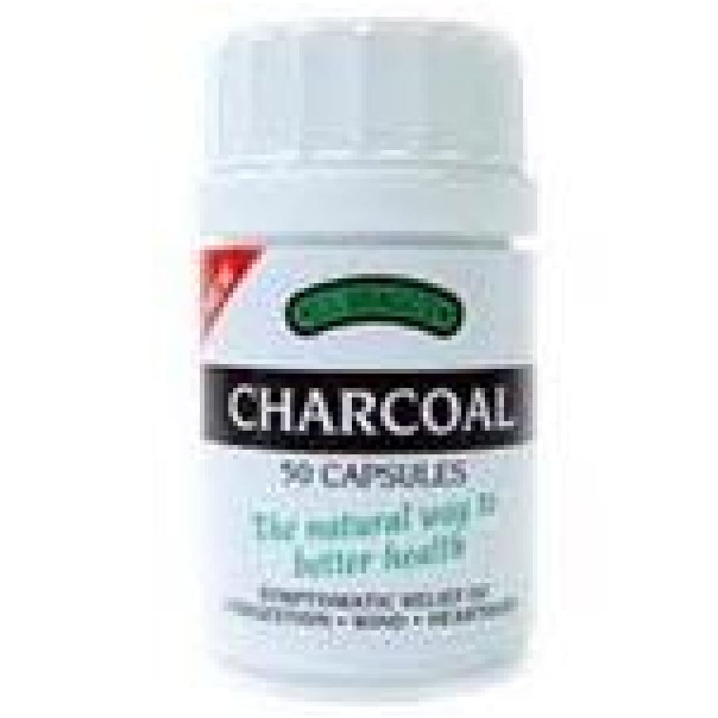 Bragg's Charcoal Capsules 50's