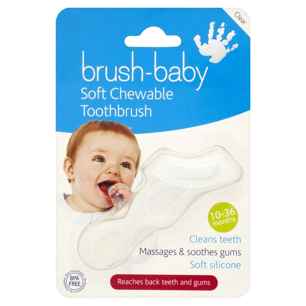 Brush-Baby Chewable Brush (Clear)