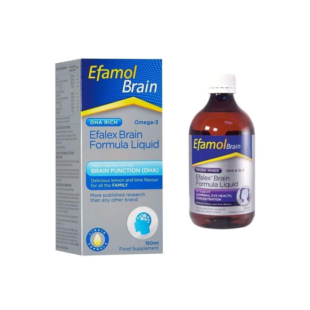 Efamol Brain Efalex Formula Liquid 150ml