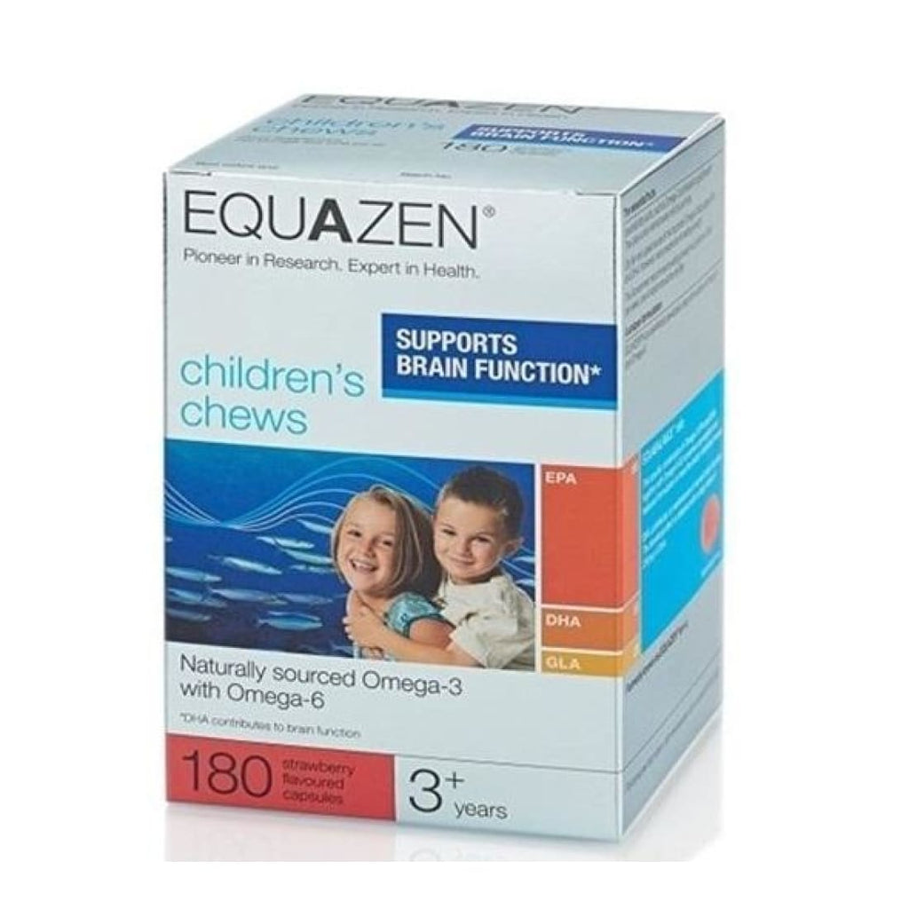 Equazen Eye Q Children's Chews Strawberry 180 Capsules