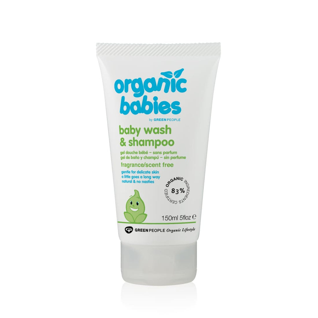 Green People Baby Wash & Shampoo - Scent Free 150ml