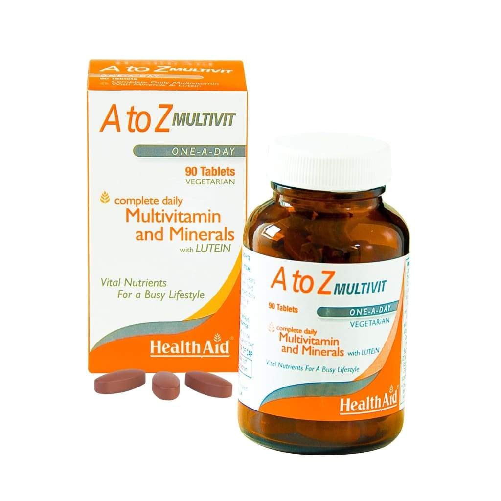 Health Aid A To Z Multivitamin+Minerals Tablets 90's
