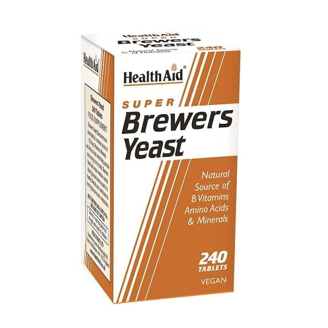 Health Aid Brewers Yeast Tablets 240's