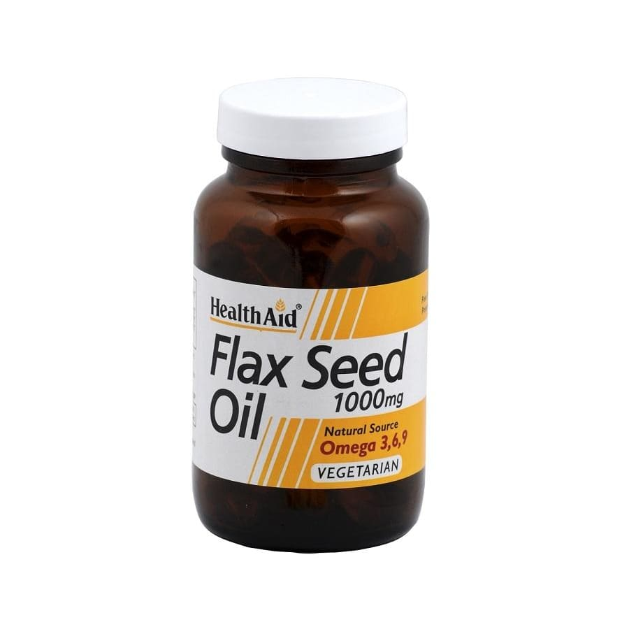 Health Aid Flaxseed Oil 1000mg 60s