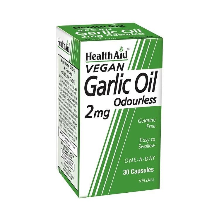 Health Aid Garlic 2mg Capsules 30's