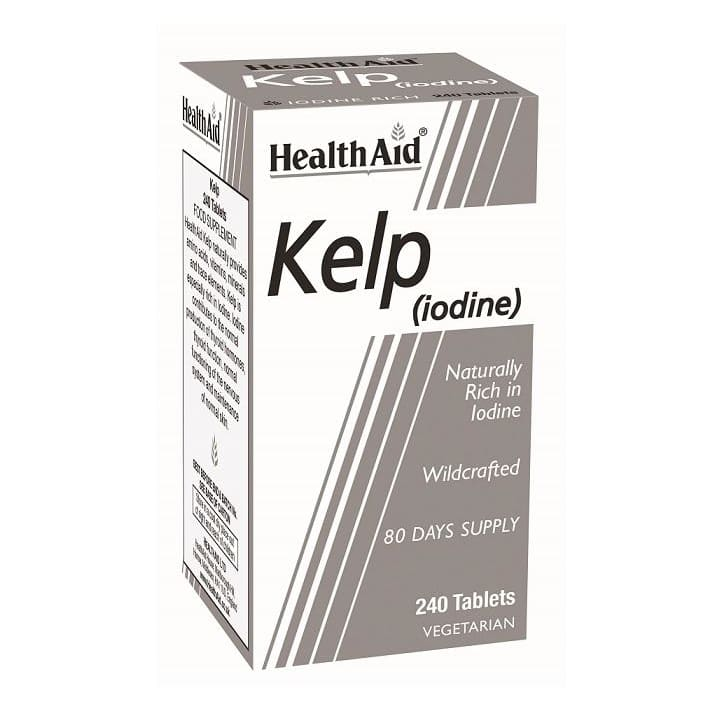 Health Aid Kelp (Iodine) Tablets 240's