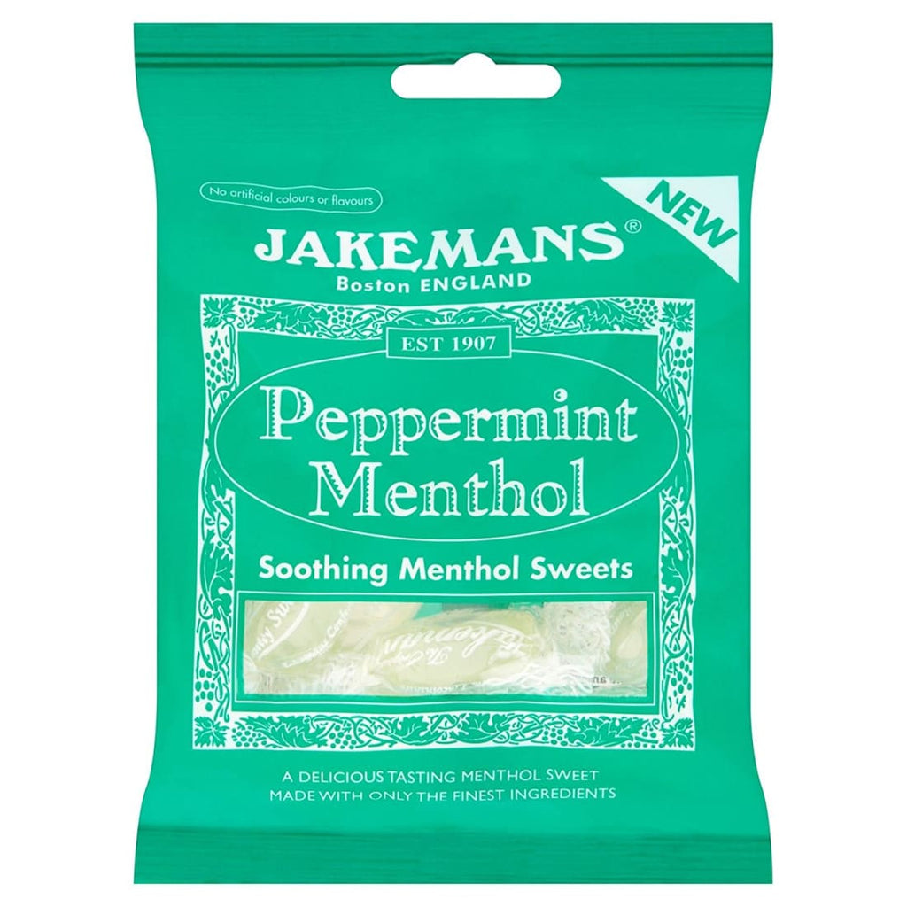 Jakemans Menthol Soothing Sweets 100g 4-18