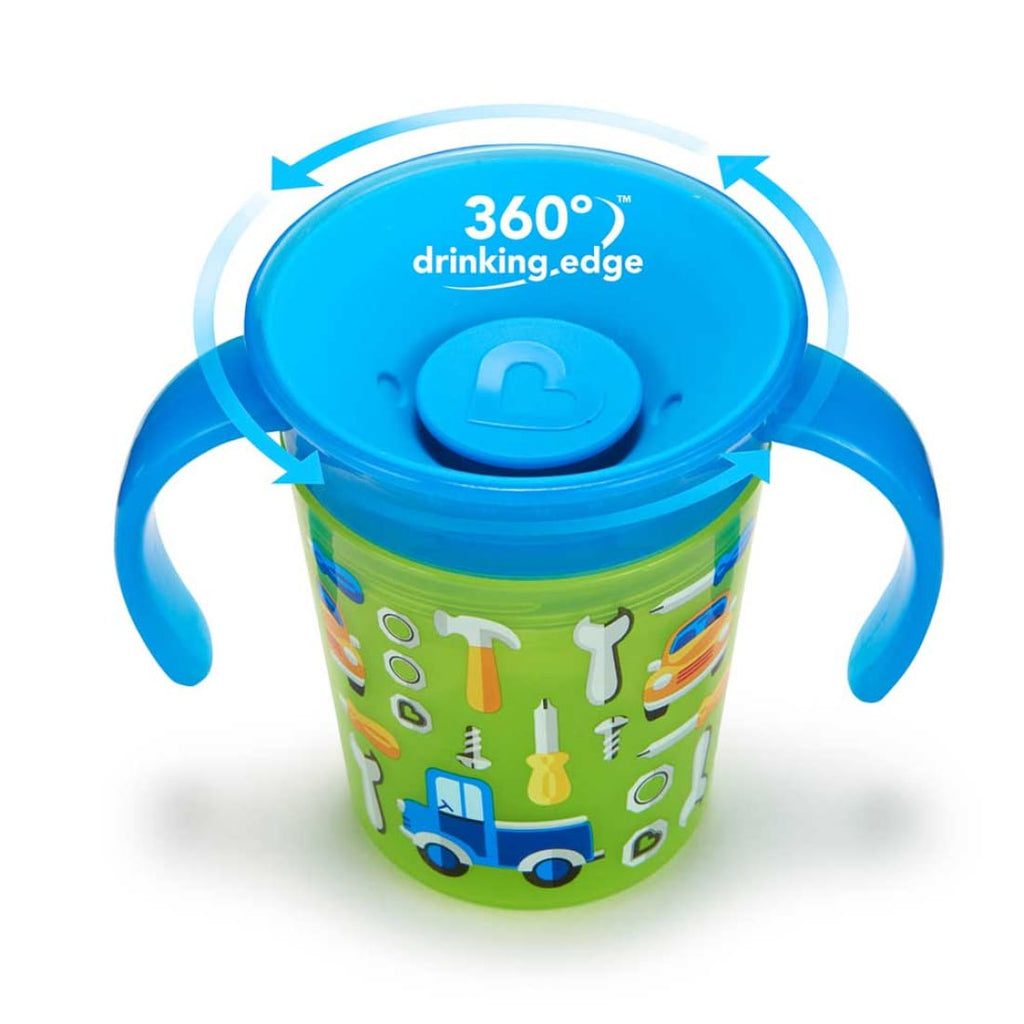 Munchkin Miracle Deco Trainer Cup - Green Car