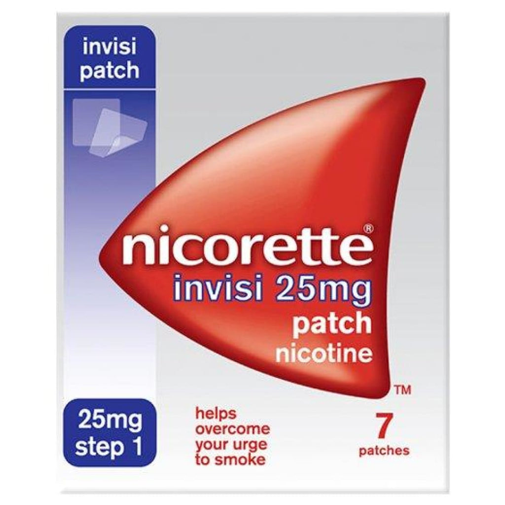 Nicorette Invisi Patch 25mg- 7 patches - Step 1 [Personal
