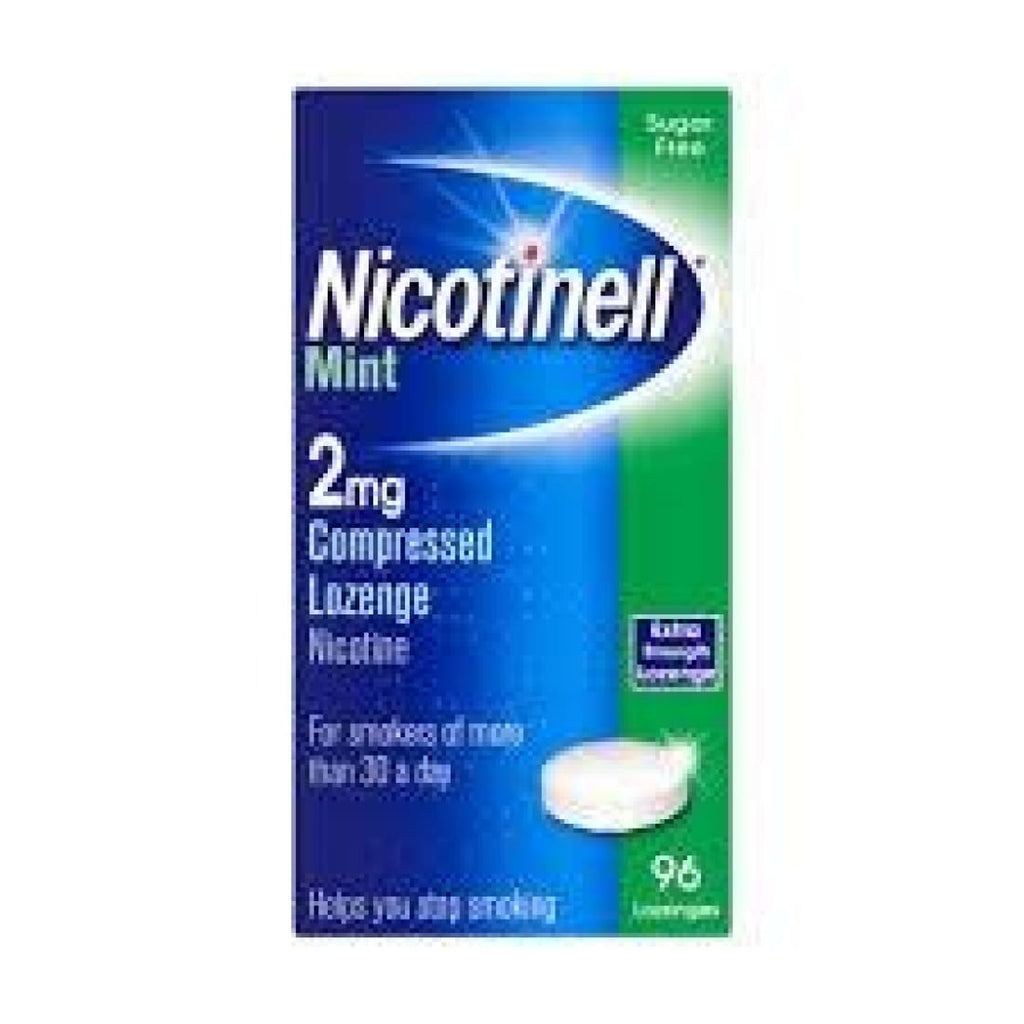 Nicotinell 2mg Lozenges 96'S Mint