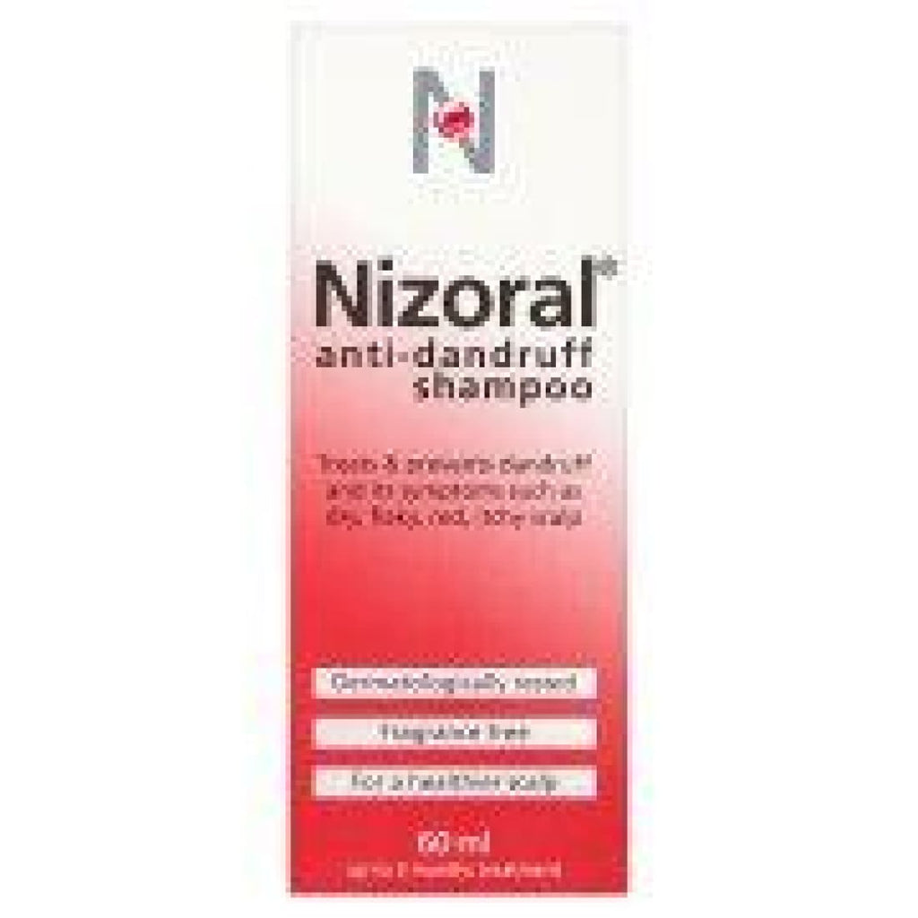 Nizoral Anti-Dandruff Shampoo 60ml