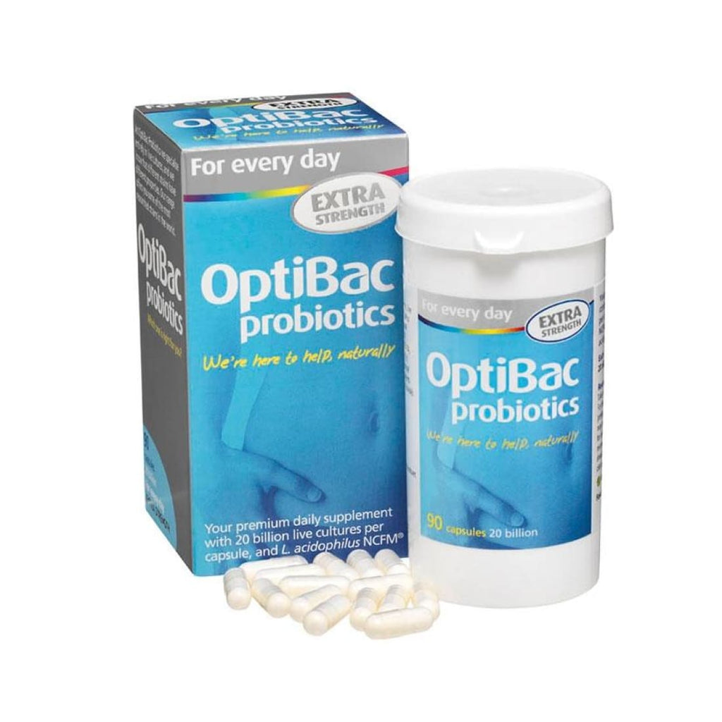 OptiBac Probiotics For Every Day Extra 90's