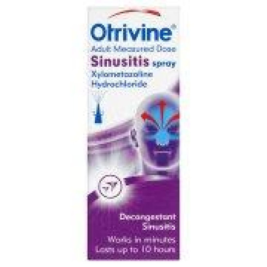 Otrivine Adult Measured Dose Sinusitis Spray 10ml
