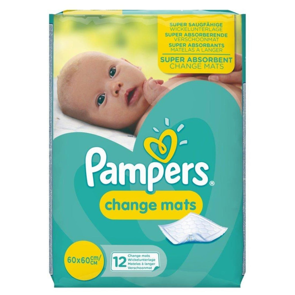 Pampers Super Absorbent Change Mats 12's