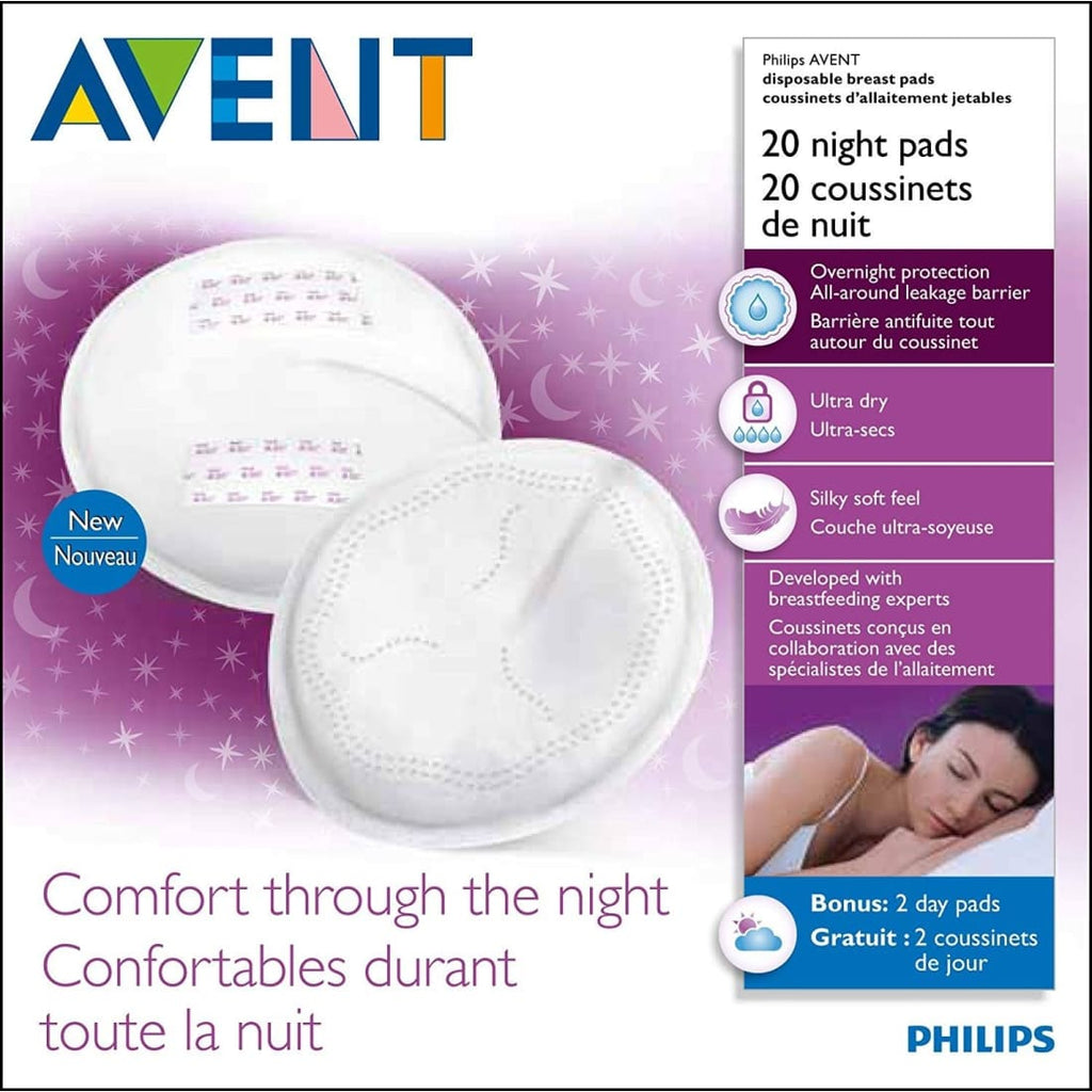 Philips Avent Disposable Breast Pads 20 Night