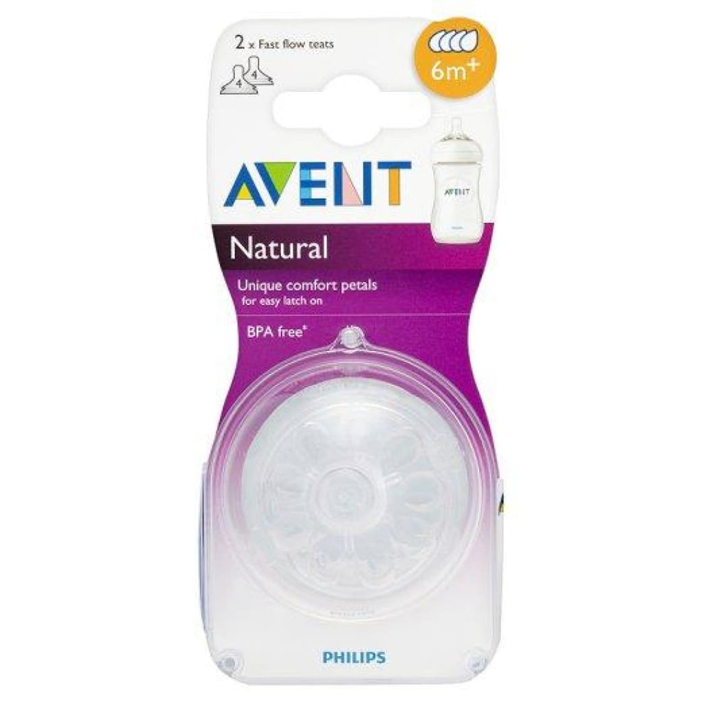 Philips Avent Natural Fast Flow Teat 6+ months