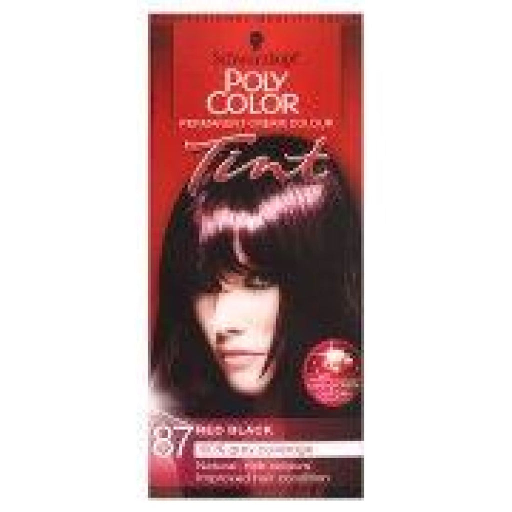 Schwarzkopf Poly Color Permanent Cream Colour Tint 87 Red