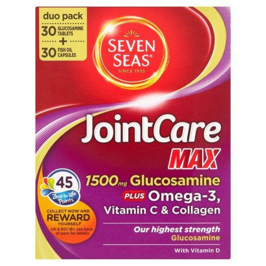 Seven Seas JointCare1500mg Glucosamine Duo Pack