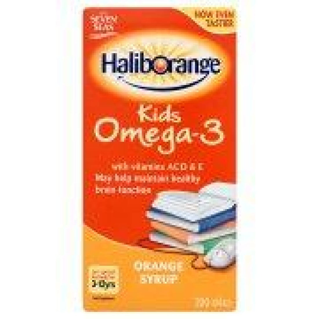 Seven Seas Kids Omega-3 with Vitamins A,C,D&EOrange Syrup
