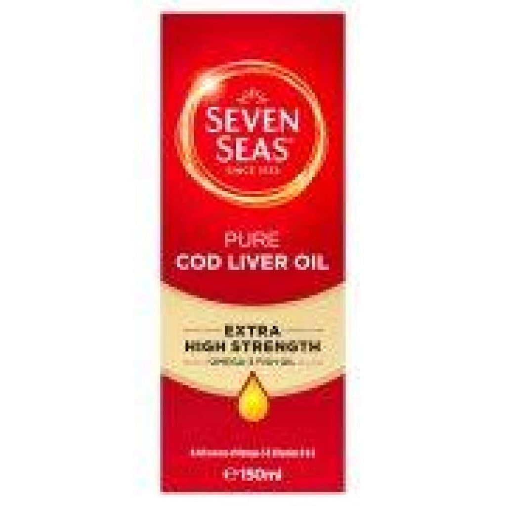 Seven Seas Pure Cod Liver Oil Extra High Strength 150ml