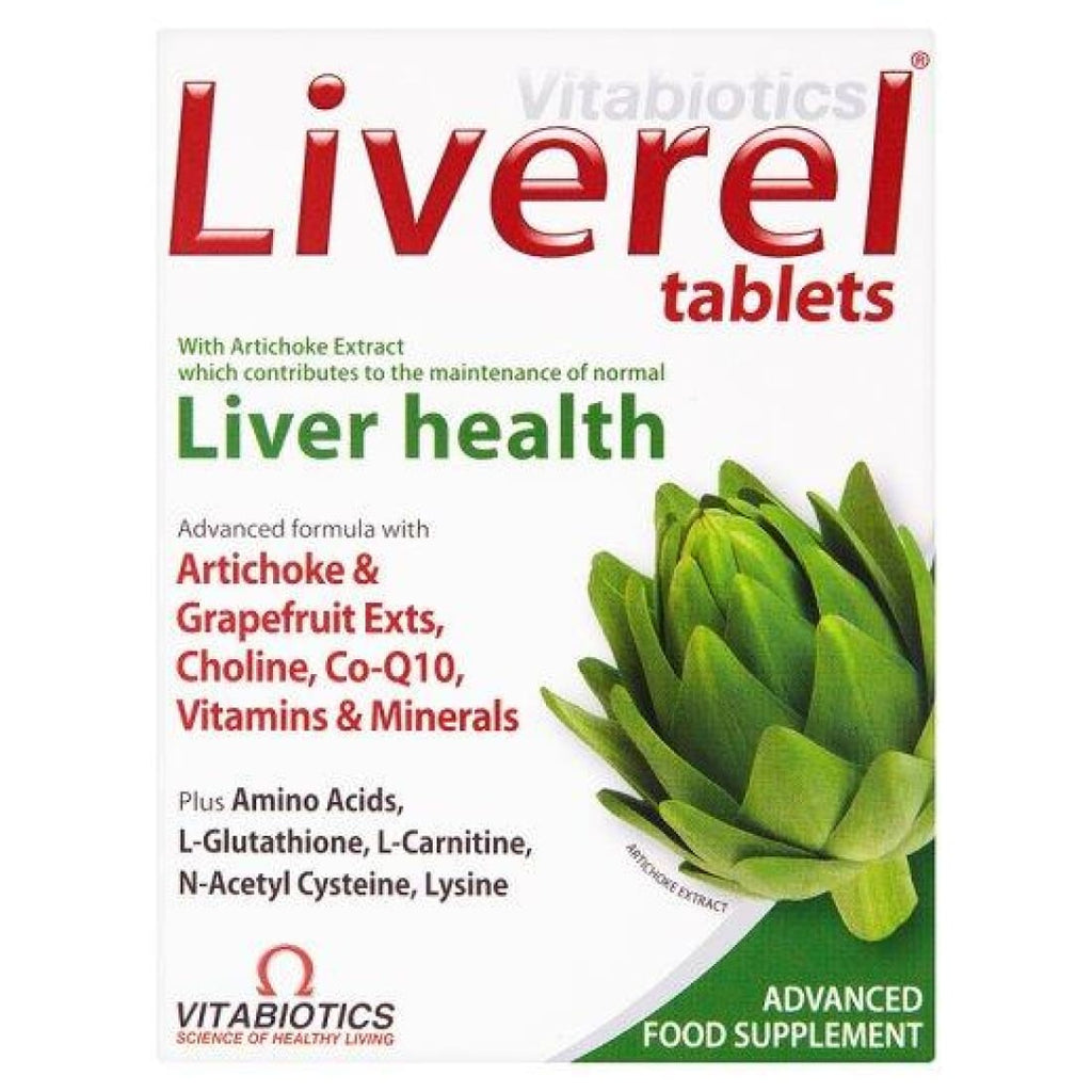Vitabiotics Liverel Liver Health 60 Tablets