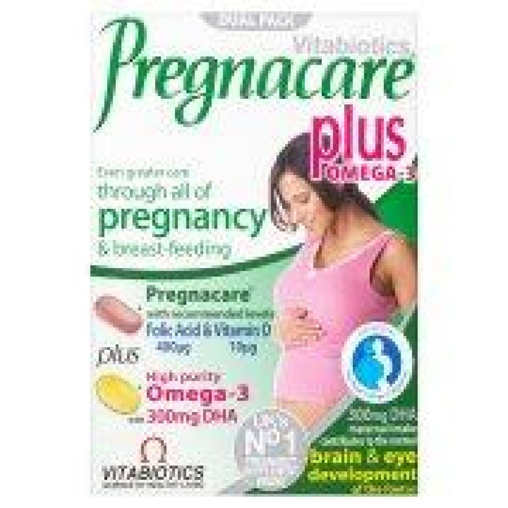 Vitabiotics Pregnacare Plus Omega 3 Dietary Supplement 56