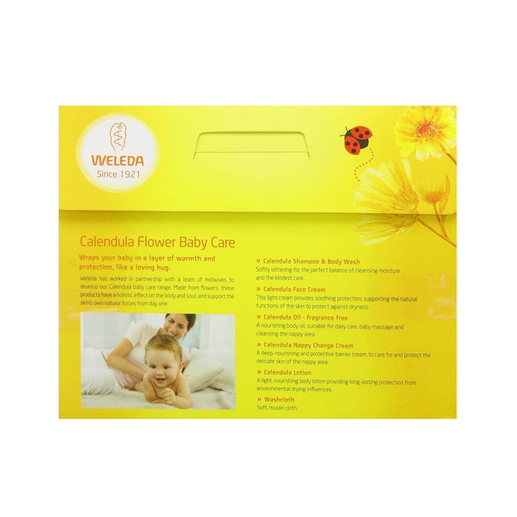 Weleda Calendula Flower Baby Care Starter Kit