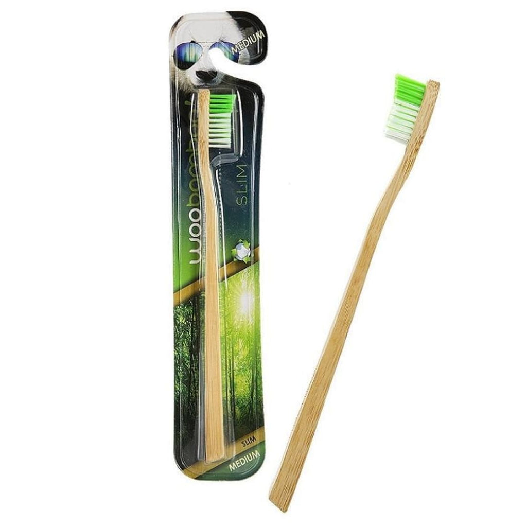 Woobamboo Eco-friendly Slim Adult Biodegradable Toothbrush