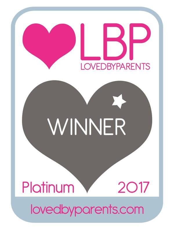 LovedByParents 2017 Winner - Platinum