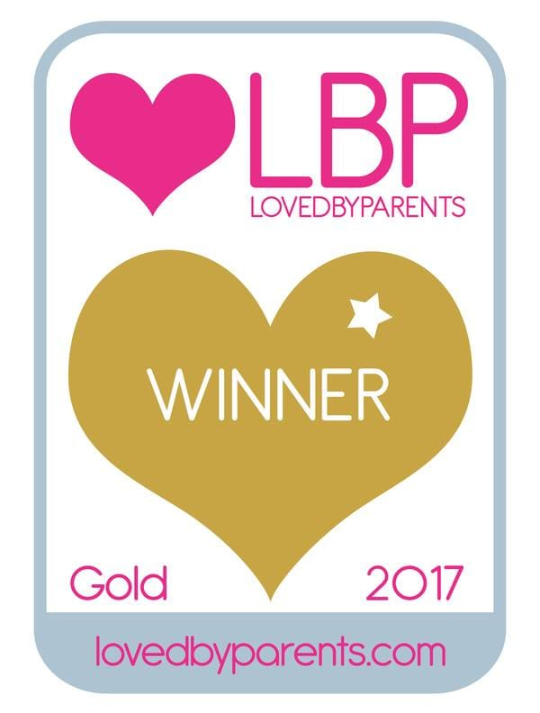 LovedByParents 2017 Winner - Gold