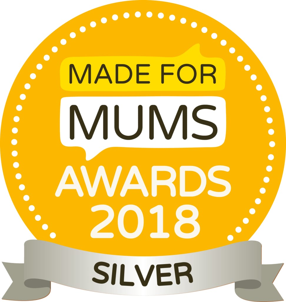 Made for Mums Awards 2018 - second position and silver medal